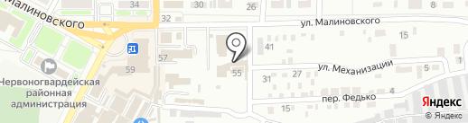 Пятый угол на карте Макеевки