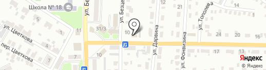Автодом ЛТД на карте Макеевки