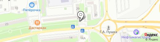 Май на карте Пушкино