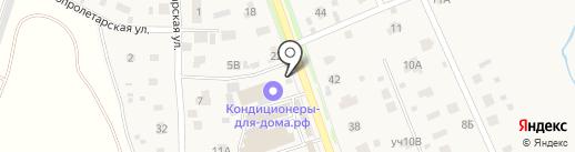 Строймастер на карте Братовщиной