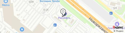 АЗС BP на карте Котельников