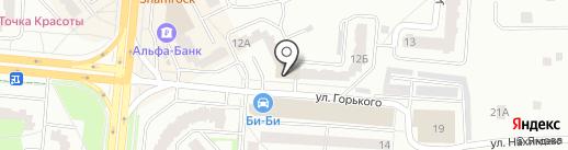 Бизнес индустрия на карте Королёва