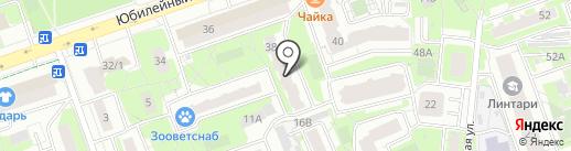Библиотека №3 на карте Реутова