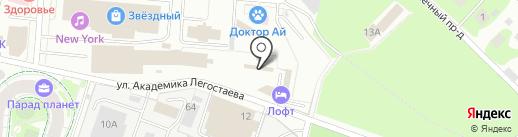 Лада на карте Королёва