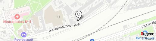 СтройИнвест-2000 на карте Реутова