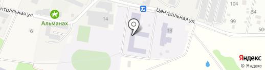 Леснополянская средняя общеобразовательная школа на карте Лесных Полян