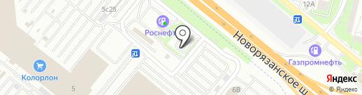 МакАвто на карте Котельников