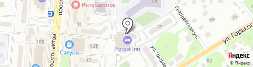 Форест на карте Королёва