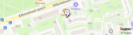 Пион на карте Реутова