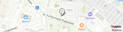 Джойнер на карте Люберец