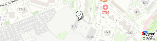 Имперский кирпичЪ на карте Люберец