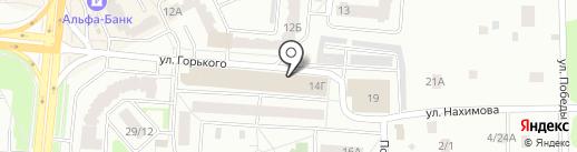 Авоська на карте Королёва