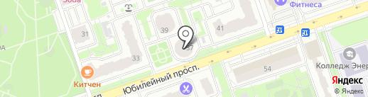 Мастерская по пошиву и ремонту одежды на Юбилейном проспекте на карте Реутова