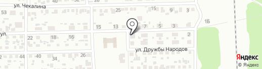 Продовольственный магазин на Геологической на карте Макеевки