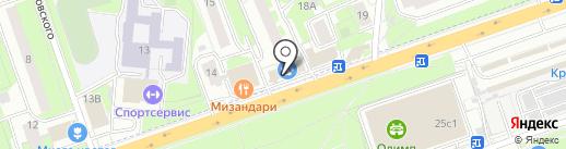 OWL-Security на карте Реутова