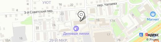 Русский Свет на карте Старого Оскола