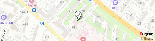 Поликлиника №5 на карте Люберец
