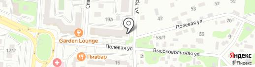 Гастроном на карте Королёва
