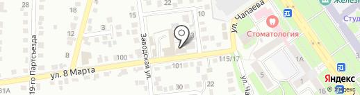 Магазин автозапчастей на карте Старого Оскола