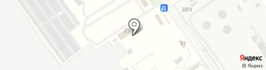 Каргосеть на карте Домодедово