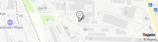 Вест-Ойл на карте Реутова