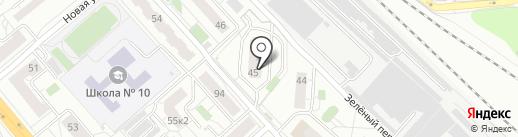 Posёlok на карте Люберец
