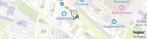 ГАЗ на карте Люберец