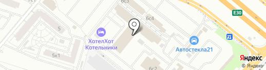 МотусАвто на карте Котельников