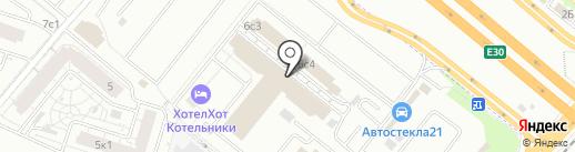 Вудсток на карте Котельников