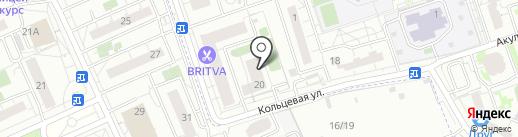 Щитниково на карте Балашихи
