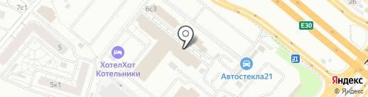 Сатурн на карте Котельников