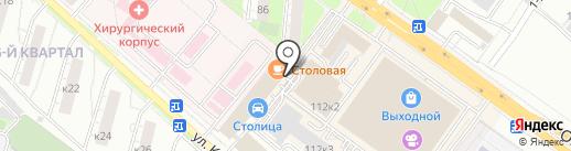 Ивановский Текстиль на карте Люберец