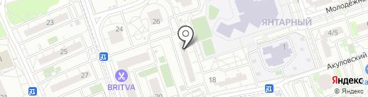 Авиценна лимитед на карте Балашихи