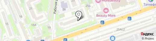 СК РИФ на карте Реутова