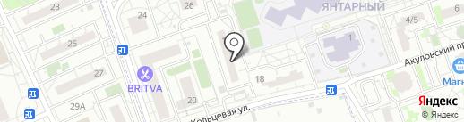 Магазин товаров для рукоделия на карте Балашихи