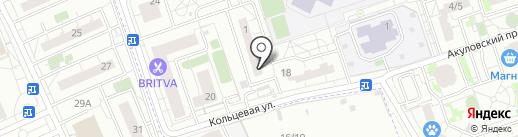 Магазин текстиля на карте Балашихи