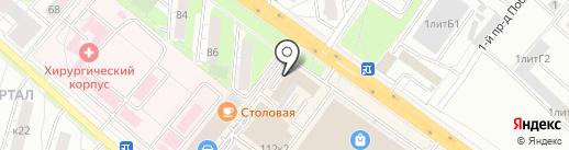Банкомат, СДМ-банк, ПАО на карте Люберец