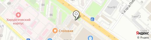 Банкомат, Промсвязьбанк, ПАО на карте Люберец