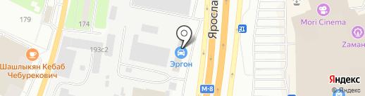 Автодорстрой на карте Пушкино