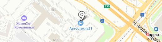 РиО на карте Котельников
