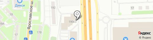 МегаКорея на карте Пушкино