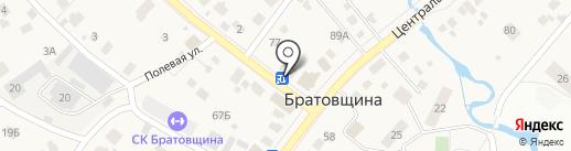 Народная аптека на карте Братовщиной