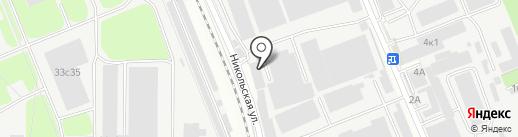 Комус на карте Реутова