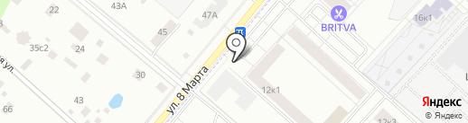 Масс-Пост на карте Люберец
