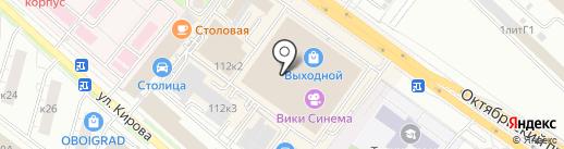 А-дизайн на карте Люберец