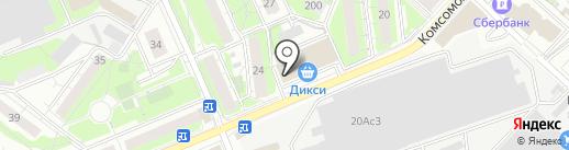 Шариколюб на карте Люберец
