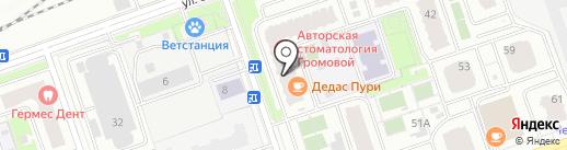 Квезаль на карте Реутова