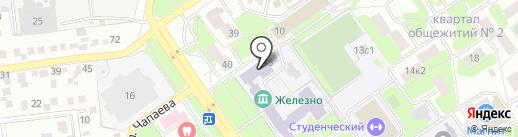 Оскольский электрометаллургический комбинат на карте Старого Оскола