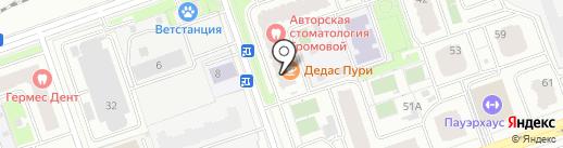 555 на карте Реутова