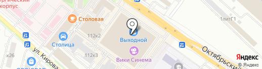 Geox на карте Люберец
